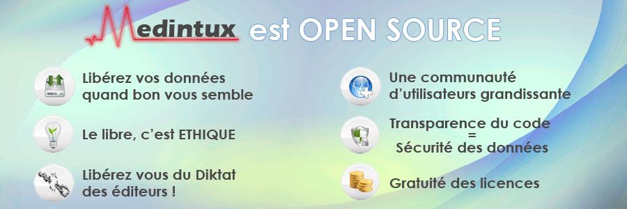 Medintux logiciel de gestion du dossier m dical libre for Logiciel plan maison open source